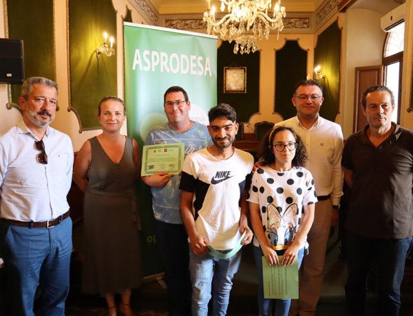 Un programa de prácticas en el Ayuntamiento de Berja acerca al mundo laboral a jóvenes con Discapacidad Intelectual o del Desarrollo