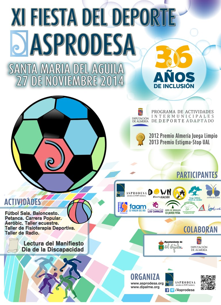 Cartel XI Fiesta del Deporte