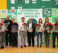 Asprodesa rompe barreras con su XV Fiesta del Deporte